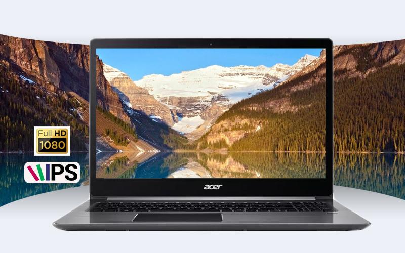 Laptop Acer Swift 5 Air Edition i7 có màn hình mỏng