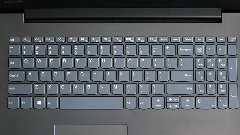 Bàn phím fullsize trên Laptop Lenovo IdeaPad 330 15IKB i5 8250U