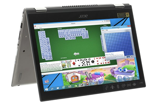 Laptop Acer Spin SP513 52N 556V i5 8250U/8GB/256GB/Touch/Win10 (NX.GR7SV.004)