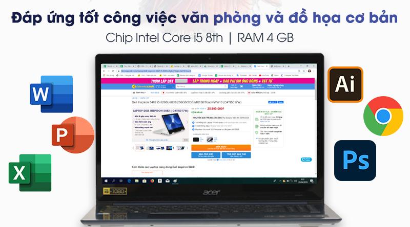 Acer Swift 3 cấu hình mạnh mẽ