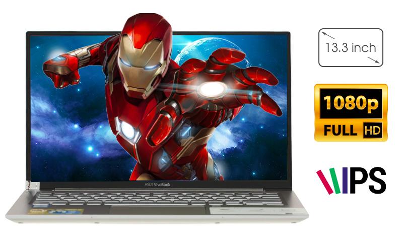 laptop Asus VivoBook S13 S330UA EY042T có màn hình đẹp