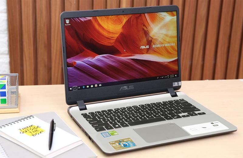 Thiết kế mặt trước Laptop Asus X407UA BV145T