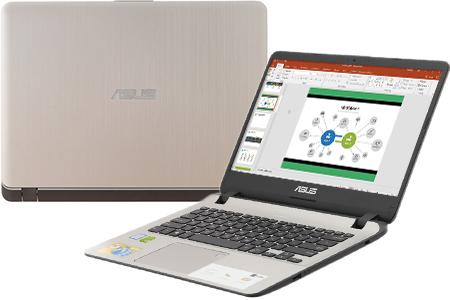 Laptop Asus VivoBook X407UF i7 8550U/4GB/1TB/2GB MX130/Win10 (BV022T)