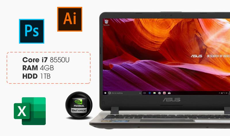 ASUS VivoBook X407UF - BV022T cho hình ảnh chuyển động mượt mà, độ chân thật tuyệt hảo.