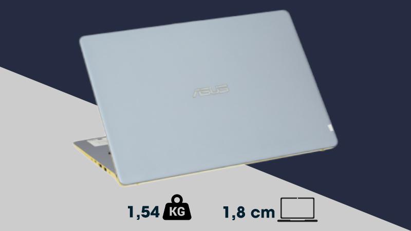 Laptop Asus S430UA - EB100T dễ dàng mang theo làm việc hàng ngày