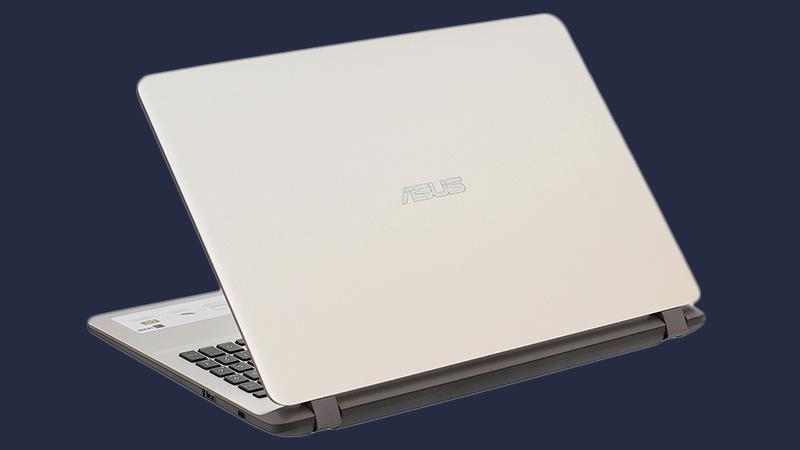 Laptop Asus  X507UF được trau chuốt tỉ mỉ từng chi tiết trong thiết kế