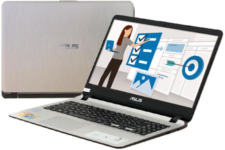 Laptop Asus Vivobook X507UA i3 7020U/4GB/1TB/Win10 (EJ313T)