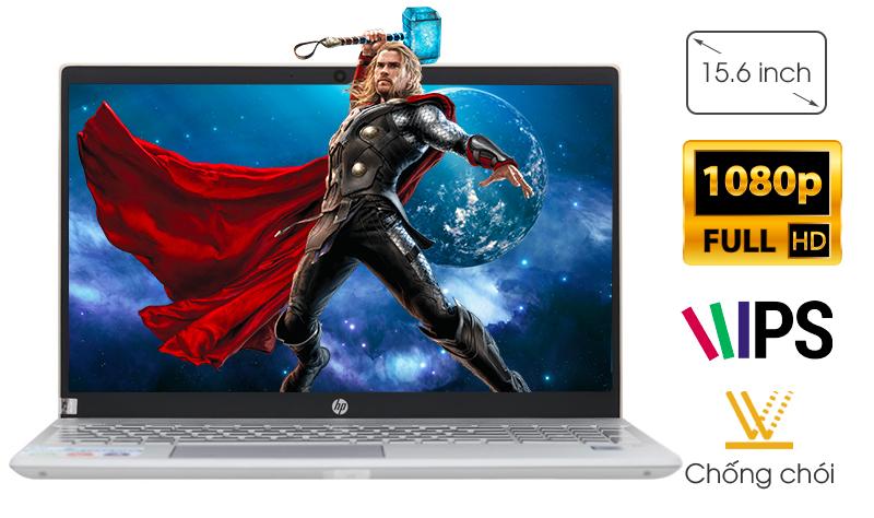 Màn hình sắc nét của laptop HP Pavilion Laptop 15-cs0016TU
