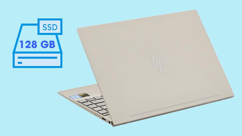 Laptop HP Envy 13 ah1010TU với ổ cứng SSD 128 GB