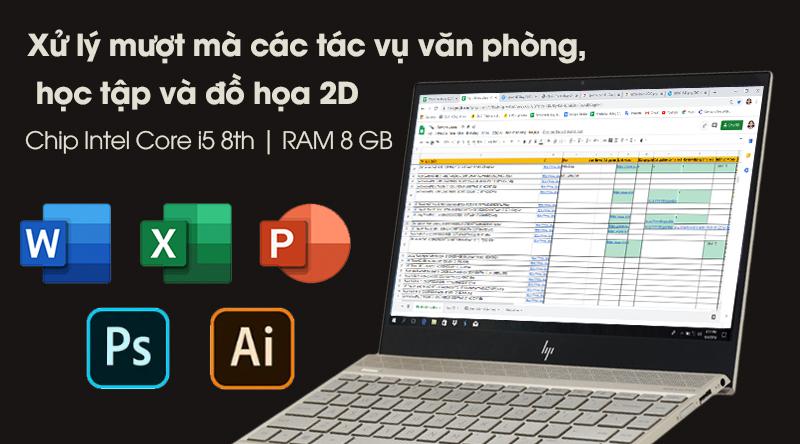 Laptop HP Envy 13 ah1010TU cấu hình khỏe