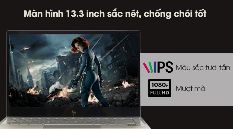 Laptop HP Envy 13 ah1010TU hiển thị hình ảnh mượt mà