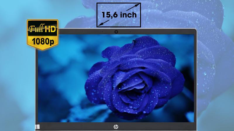 Laptop HP Pavilion 15-cs1081TX 5RL50PA trang bị màn hình viền siêu mỏng 15,6 inch độ phân giải Full HD