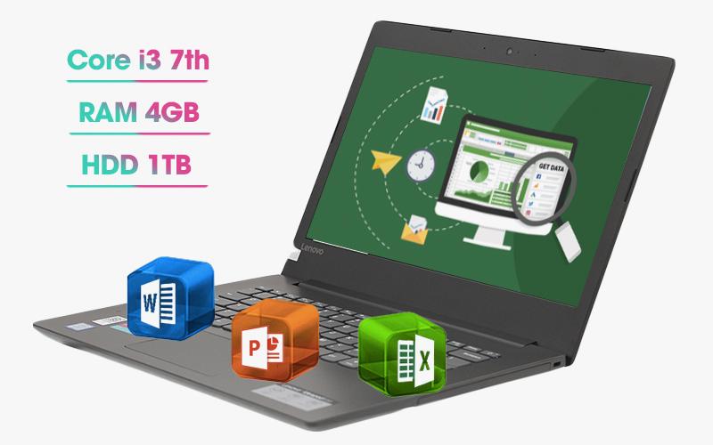 Laptop Lenovo Ideapad 330 xử lý mượt mà những tác vụ thường ngày