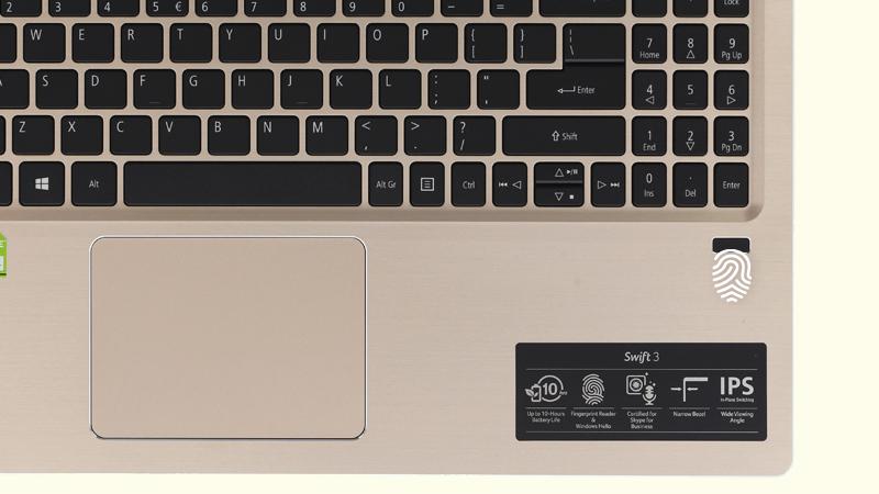 Cảm biến vân tay Laptop Acer Swift SF315 52G 58TE