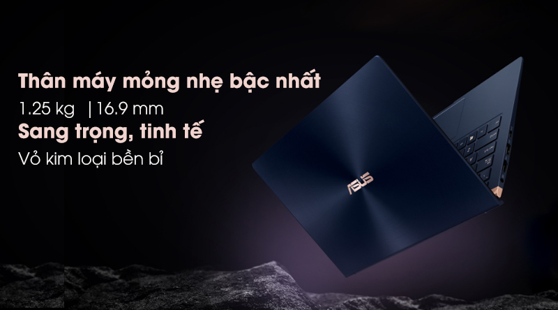 Laptop Asus Zenbook 13 UX333FA-A4011T sang trọng, gọn nhẹ