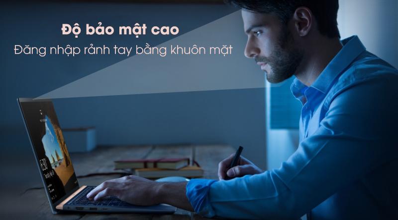 Laptop Asus Zenbook 13 UX333FA-A4011T bảo mật cao