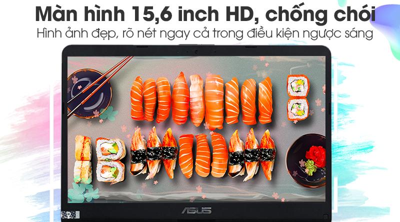 Laptop Asus Vivobook X507UB-BR354T có màn hình 15,6 inch chống chói