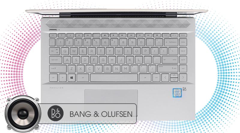 Laptop HP Pavilion 14 có âm thanh to rõ, chân thật