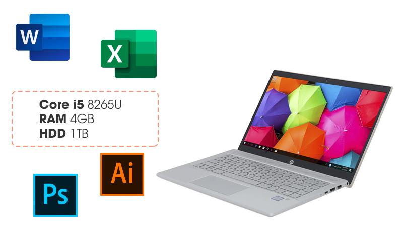 Laptop HP Pavilion 14 có cấu hình xử lý mạnh mẽ