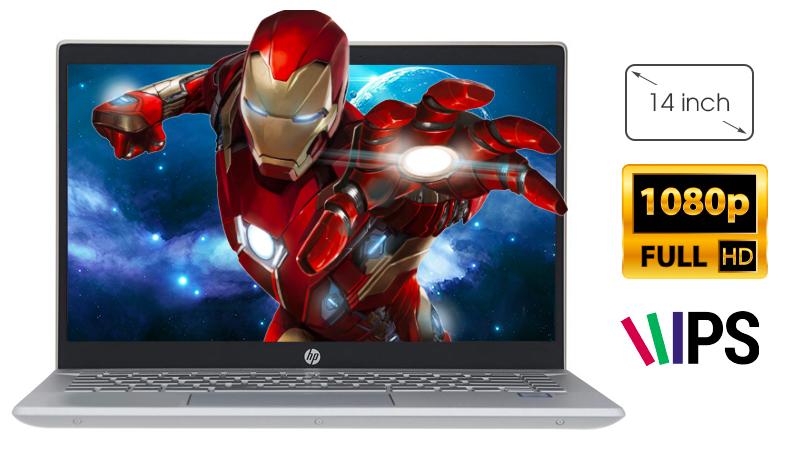 Laptop HP Pavilion 14 có màn hình 14 inch Full HD viền siêu mỏng