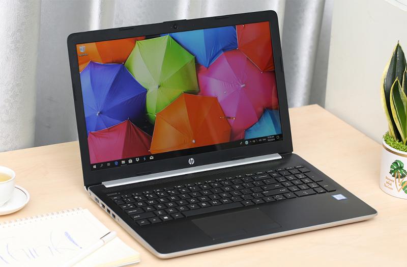 Thiết kế tuy đơn giản mà thanh lịch laptop HP 15 da1022TU