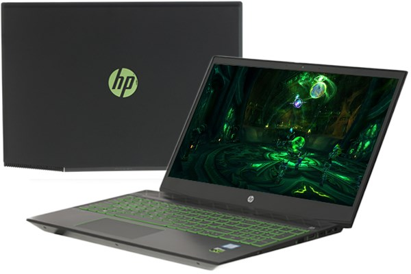 Laptop HP Palivion 15 cx0182TX i7 8750H/8GB/1TB+128GB/GTX1050Ti/Win10 (5EF46PA)