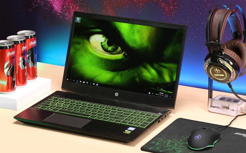 Laptop HP Pavilion 15 cx0182TX có thiết kế cứng cáp, hiện đại