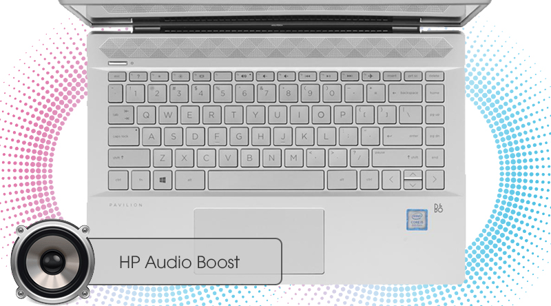 Laptop HP Pavilion 14-ce1012TU 5JN66PA có âm thanh chân thật
