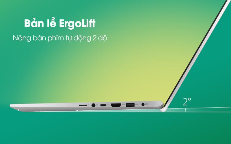 Bản lề Ergolift trên Laptop Asus VivoBook A512FA EJ552T