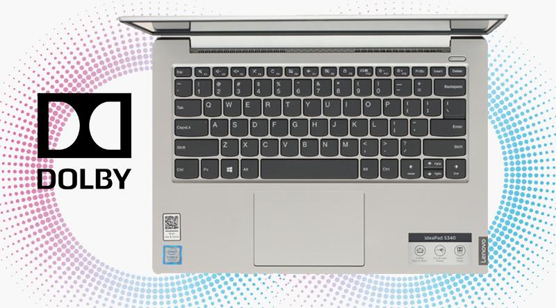 Lenovo IdeaPad S340 14IWL i3 8145U giúp âm thanh trên laptop chi tiết, rõ ràng