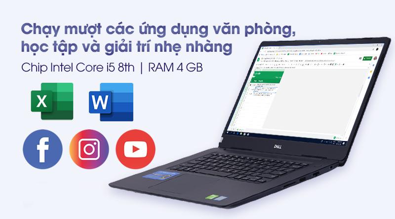 Hiệu năng - Laptop Dell Vostro 5581 i5 (VRF6J1)