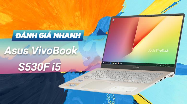 Asus VivoBook S530FA i5 8265U (BQ400T)