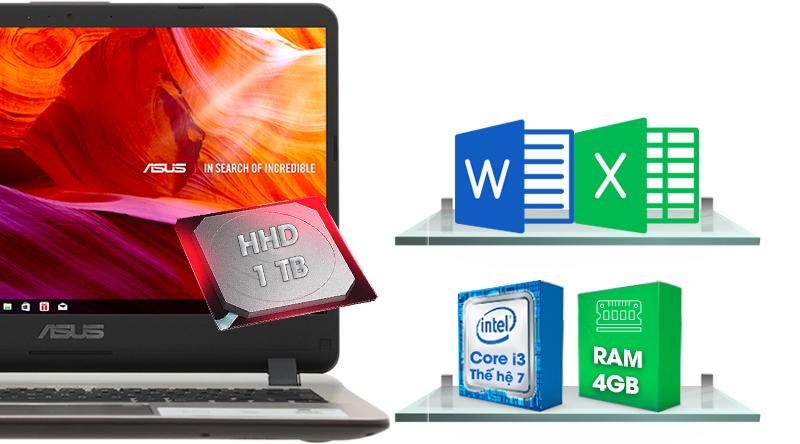 Laptop Asus X407UA thông số