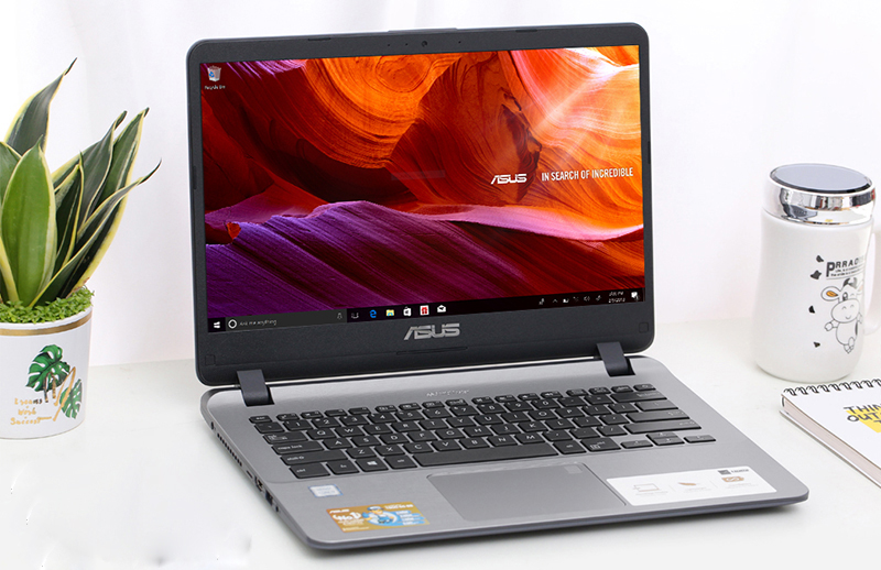 Laptop Asus 14 X407UA mỏng nhẹ dễ mang theo