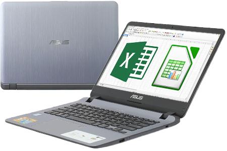 Laptop Asus VivoBook 14 X407UA i3 7020U/4GB/1TB/Win10 (BV345T)