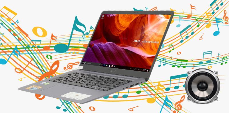Laptop Asus A510UA (EJ1217T) mang đến cho bạn âm thanh trong trẻo, mượt mà