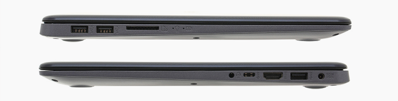 Laptop ASUS VivoBook A510UA được trang bị nhiều cổng kết nối khác nhau