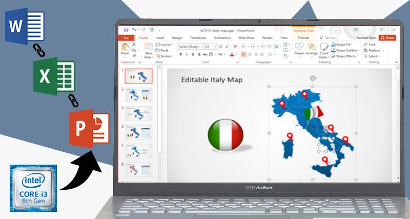Cấu hình chạy tốt các ứng dụng văn phòng của Laptop Asus Vivobook S15 S530