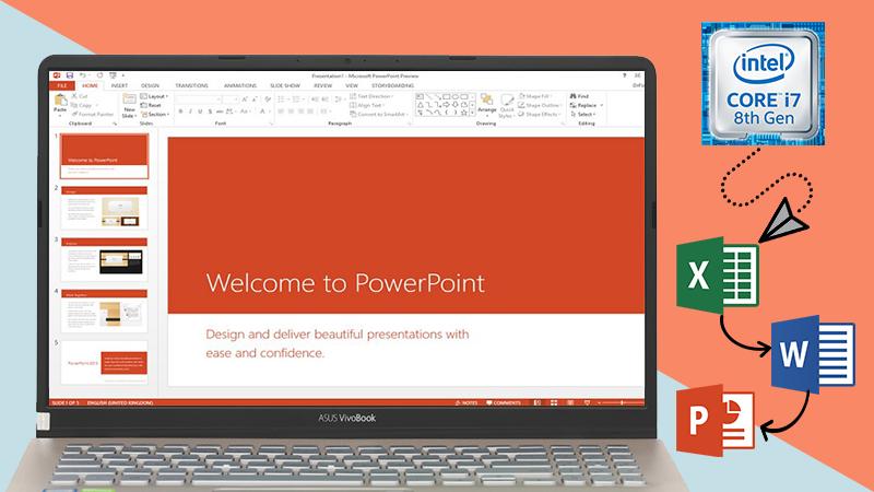 Laptop Asus S530FN i7 8565U mang đến cho bạn hiệu quả công việc cao nhất