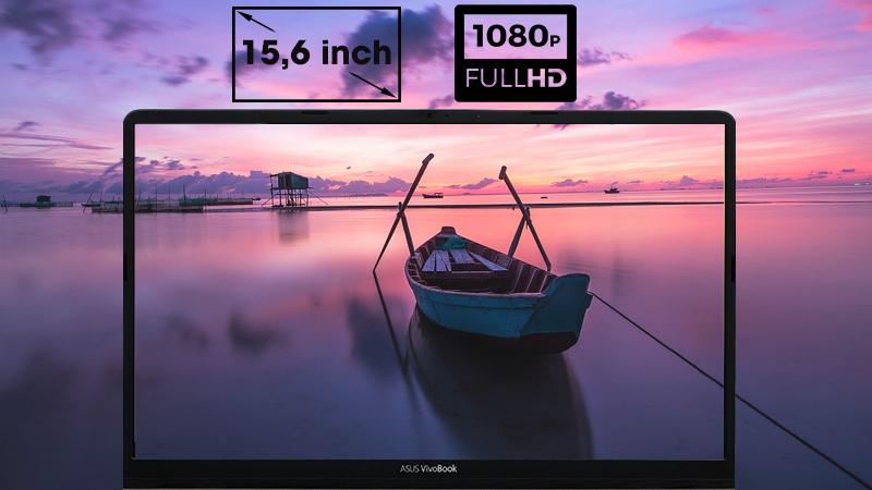 Laptop Asus S530FN i7 8565U với hình ảnh chuyển động mượt mà, sống động