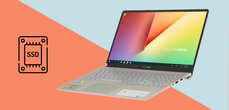 Laptop Asus S530FN i7 8565U có thể khởi động thiết bị một cách nhanh chóng