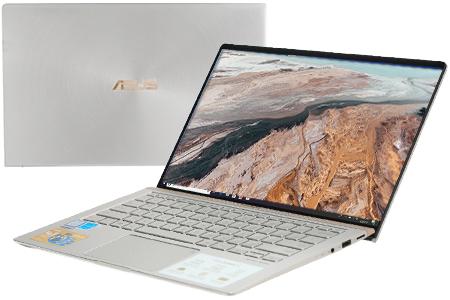 Laptop Asus ZenBook 14 UX433FA i5 8265U/8GB/256GB/Túi/Win10 (A6113T)