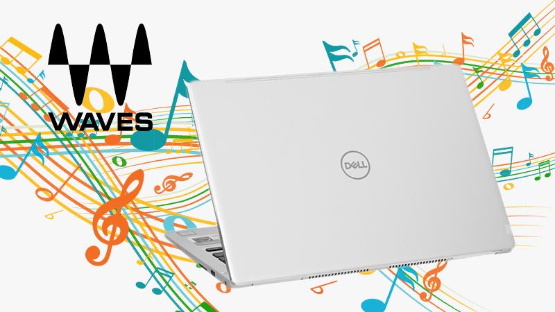 Laptop Dell Inspiron 7370 i7 (7D61Y3)  trải nghiệm chất lượng âm thanh đỉnh cao