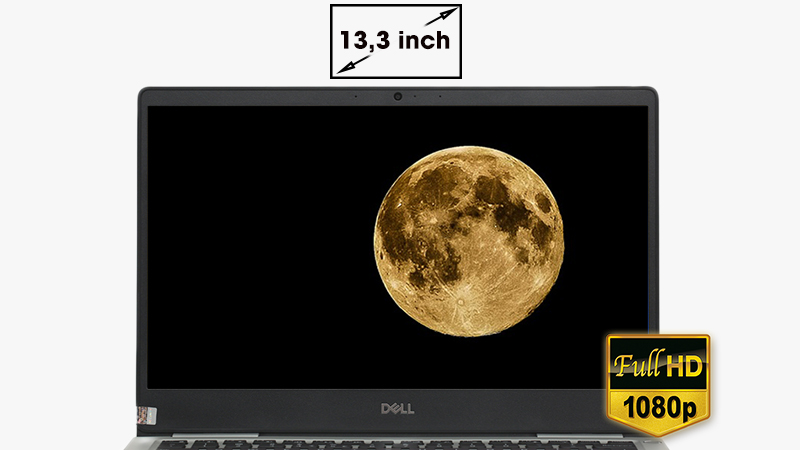 Laptop Dell Inspiron 7370 i7 (7D61Y3) đem đến hình ảnh cực đẹp