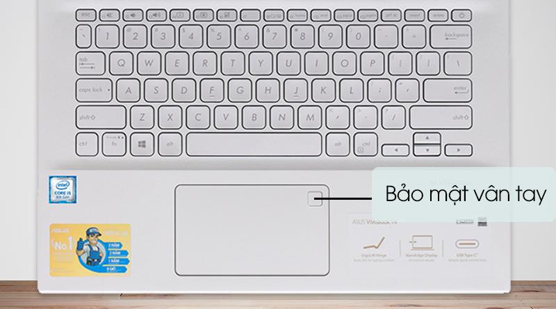 Bảo mật Asus VivoBook A412FA