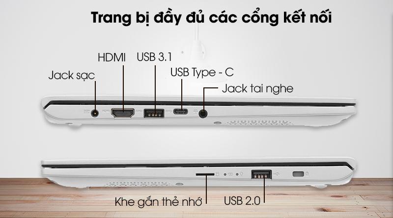 Cổng kết nối Asus VivoBook A412FA