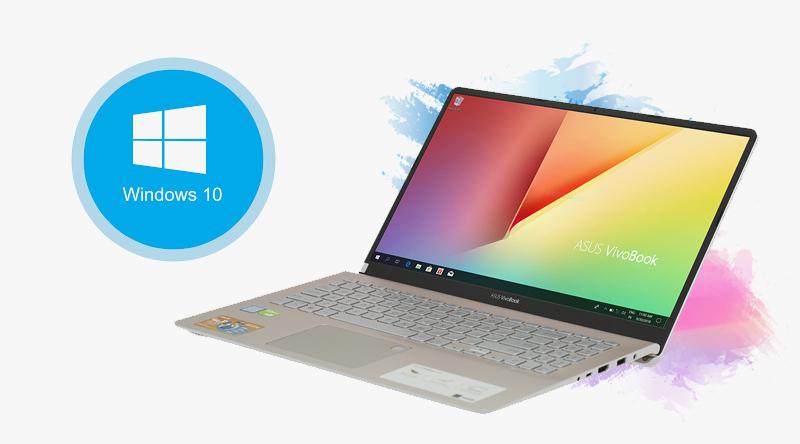 Laptop Asus S530FN i5 8265U giúp tăng cường độ bảo mật cho sản phẩm tối ưu.