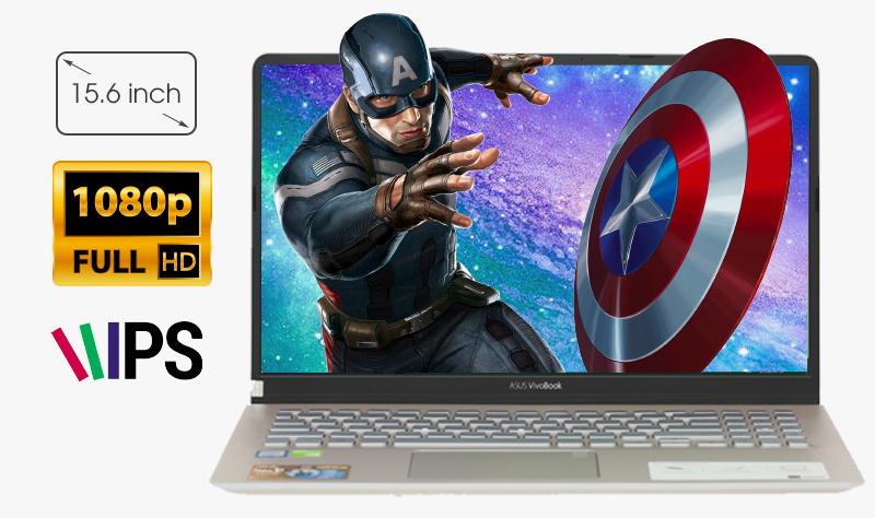 Laptop Asus S530FN i5 8265U cho hình ảnh sắc nét, sống động như thật