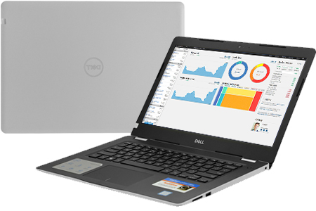 Laptop Dell Inspiron 3480 i3 8145U (NT4X01)