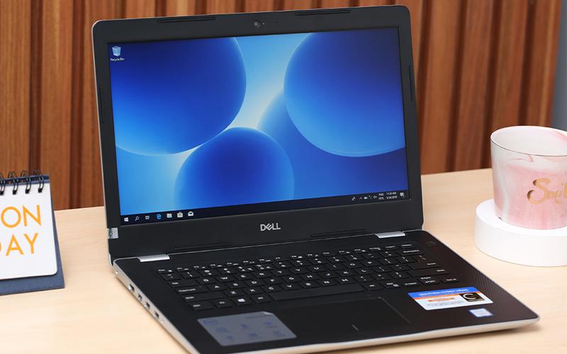 Laptop Dell Inspiron 3480 sở hữu thiết kế đẹp mắt